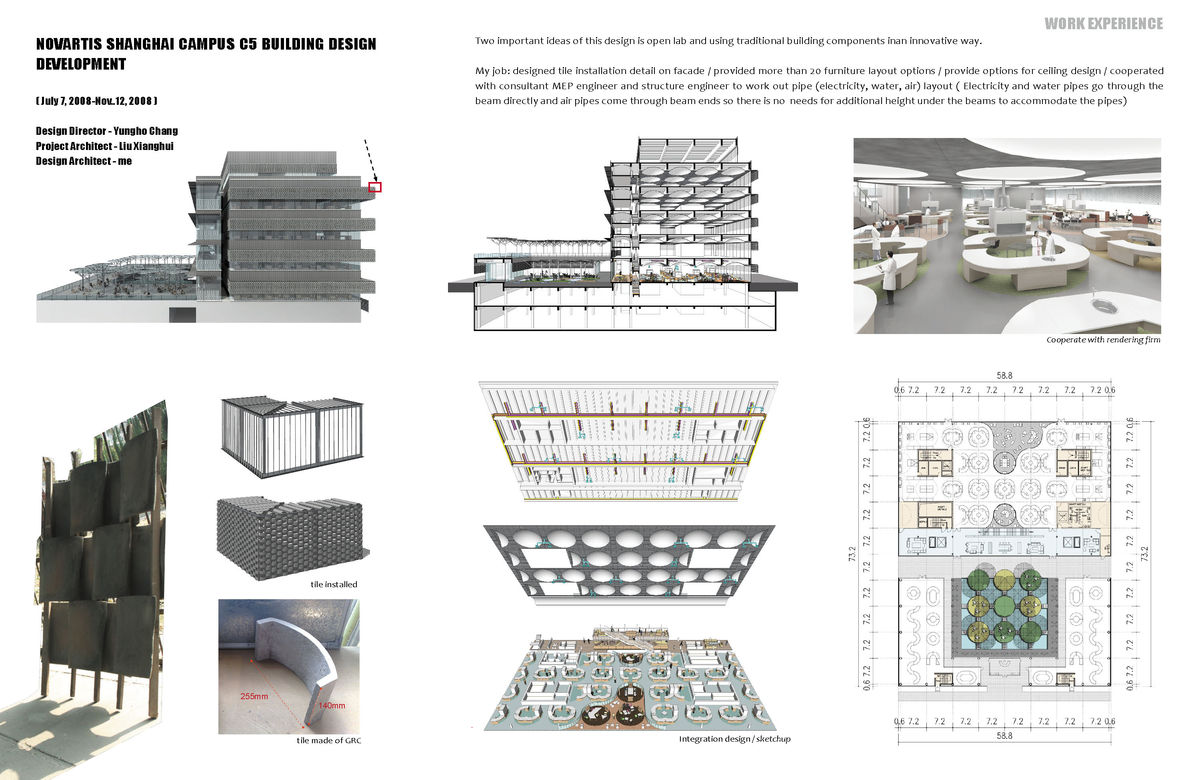 Novartis shanghai campus c5 building design development for Design development architecture