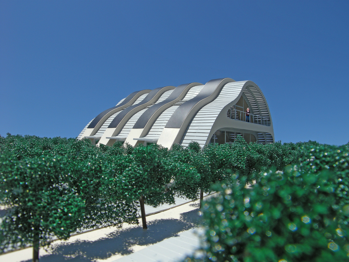The Solar Vineyard House