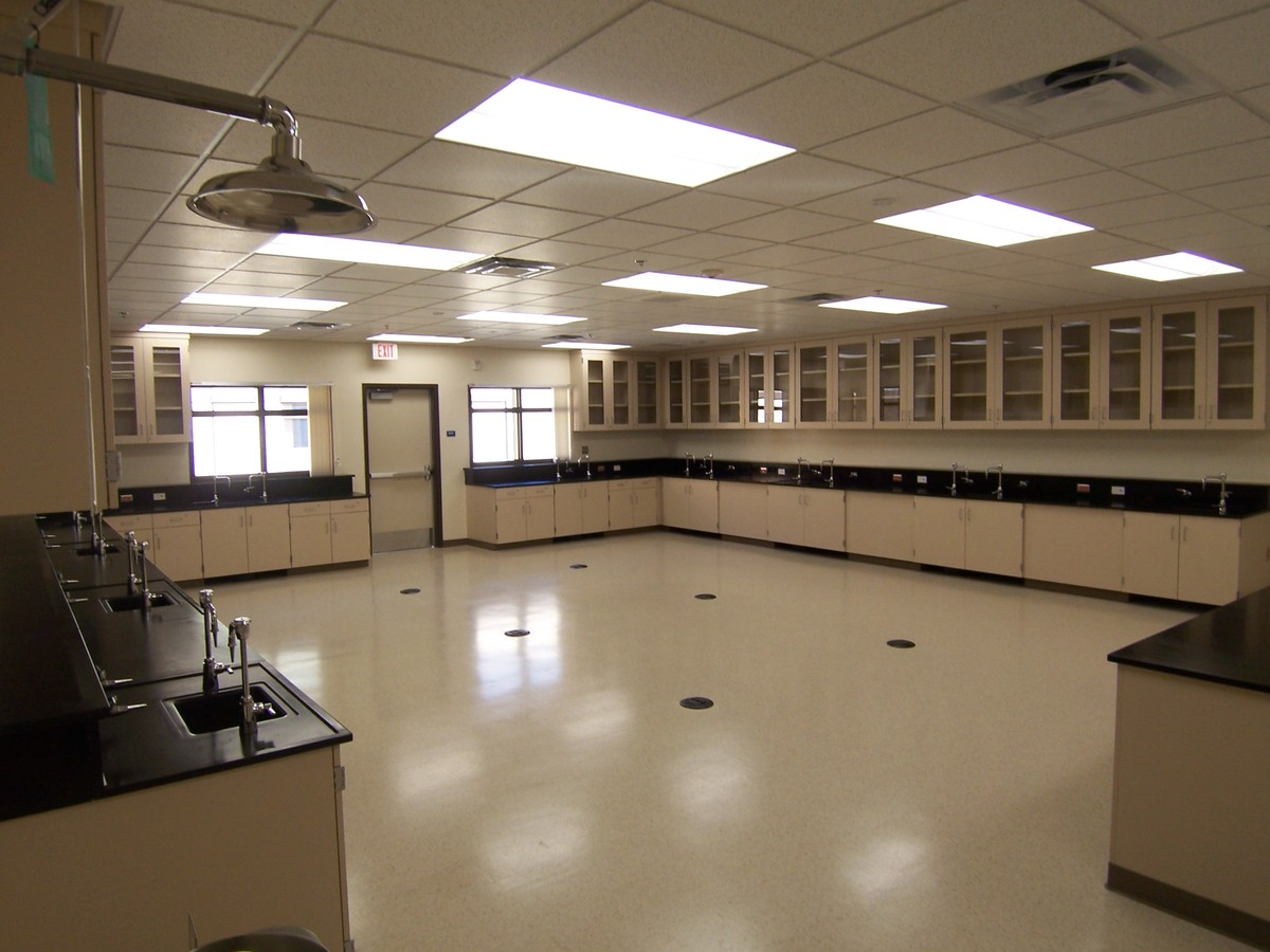 Lab of RMS Science Building Addition