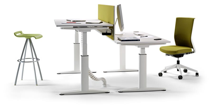 Actiu mobility sit stand workstation from bentley house for Ikea assis stand bureau canada