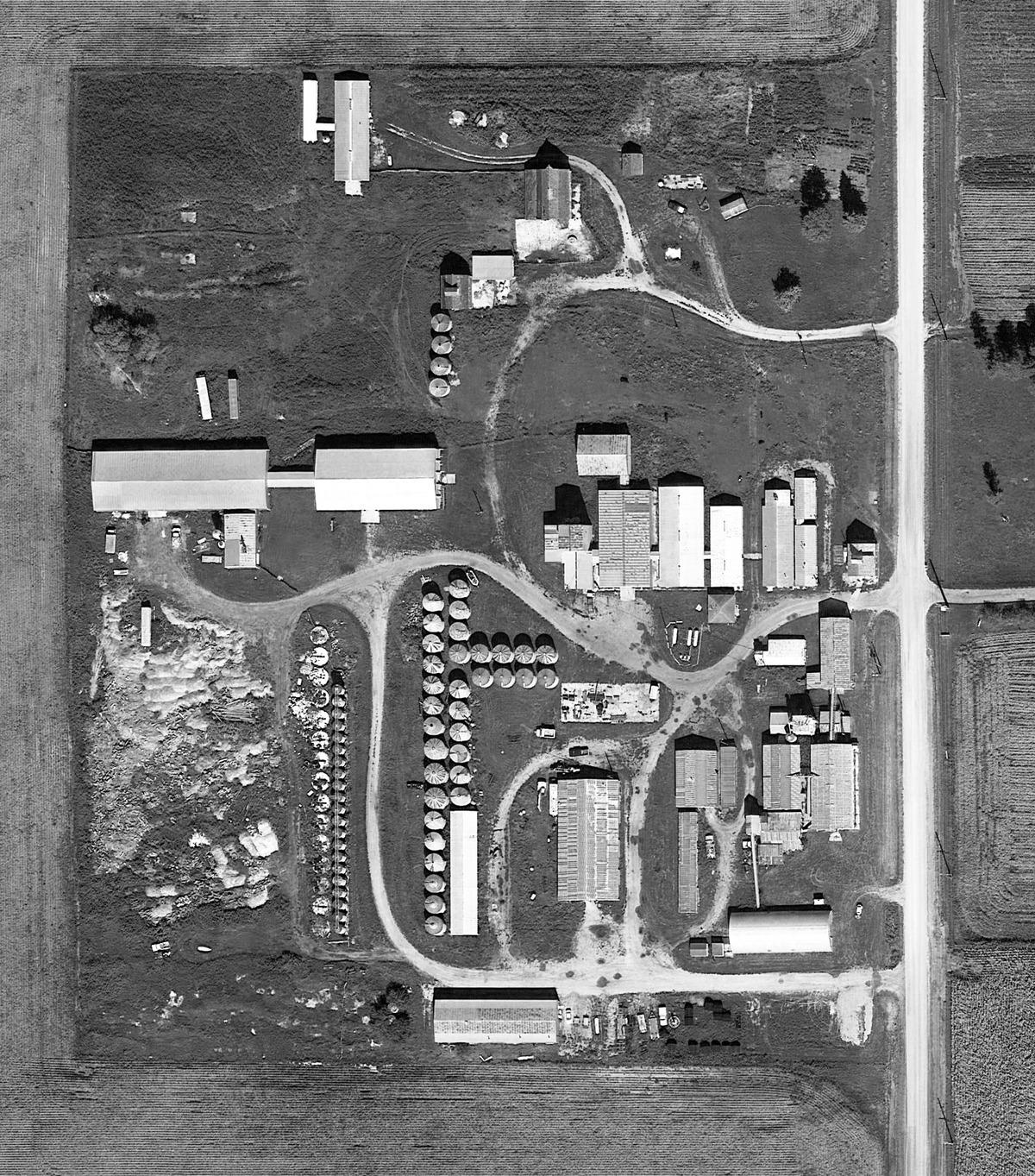 Aerial of Black Farm