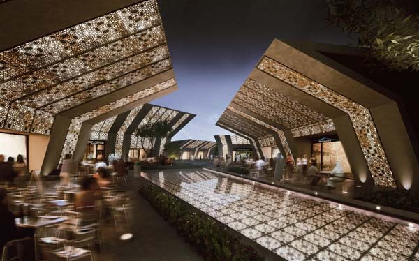 Valley city qatar mz architects archinect for Architecture firms in qatar