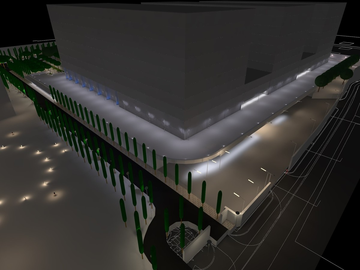 Lighting design for leed campus lightvolumes lighting for Leed building design