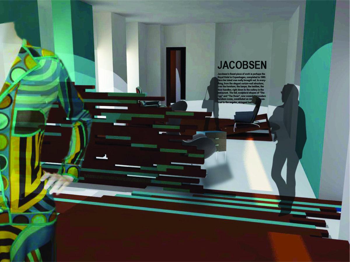render of exhibit room 2