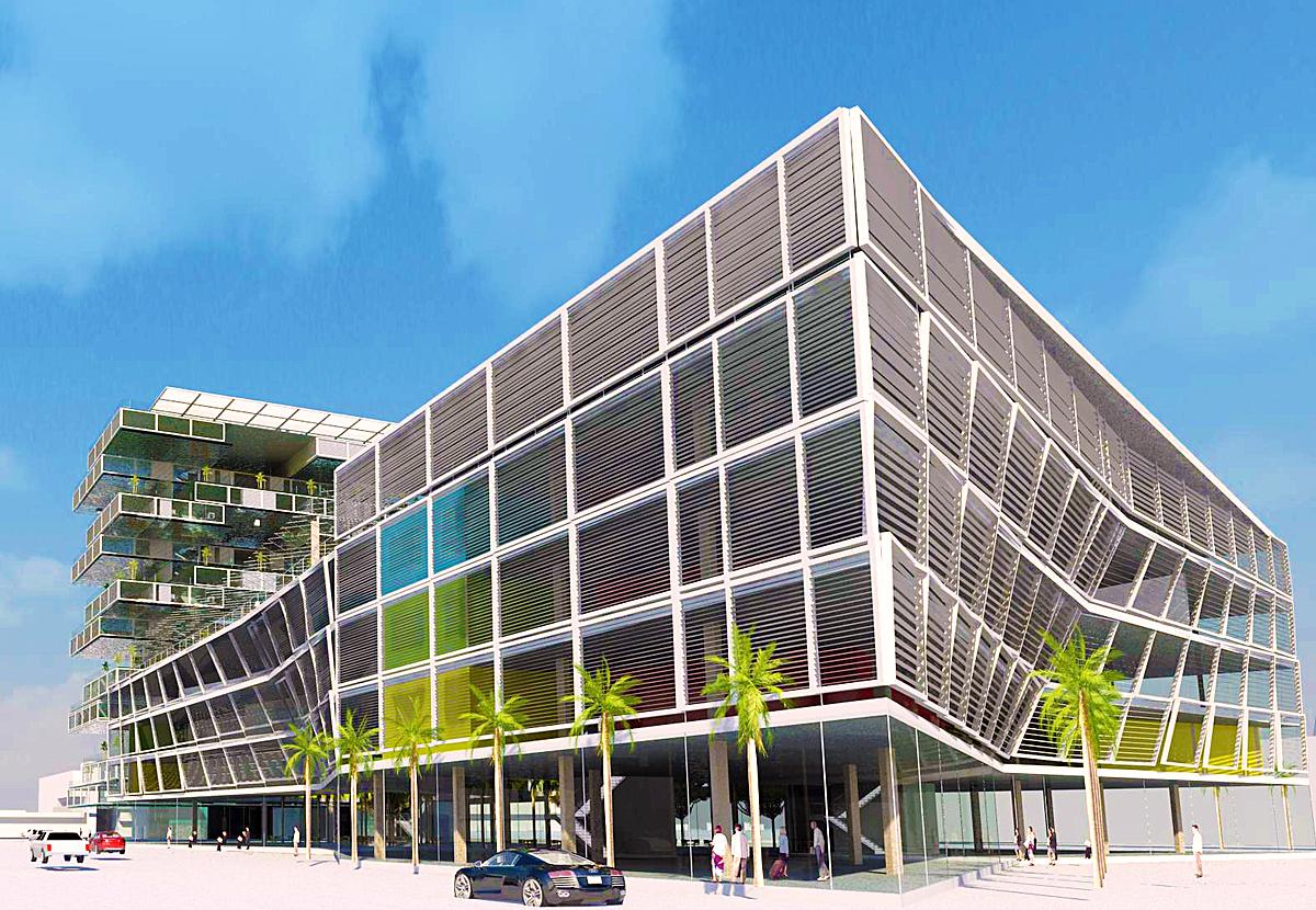 Cultural Center South Facade