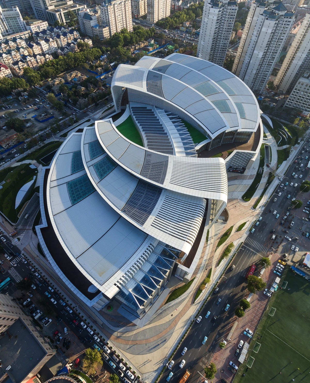 Olympia 66, Dalian, China. Credit: Aedas.
