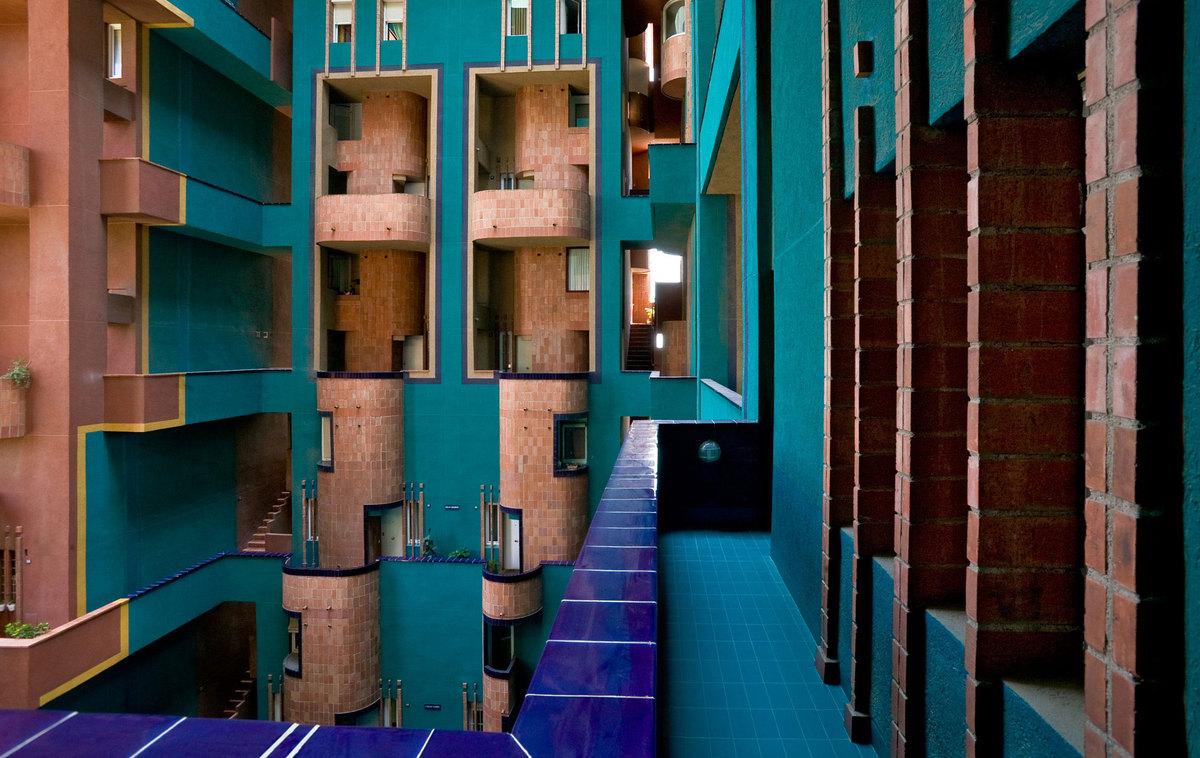 walden 7 ricardo bofill taller de arquitectura archinect. Black Bedroom Furniture Sets. Home Design Ideas