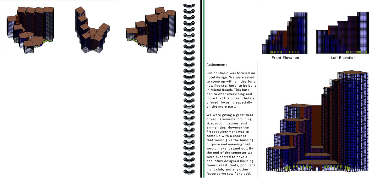 page 2 of Hotel Project Exterior