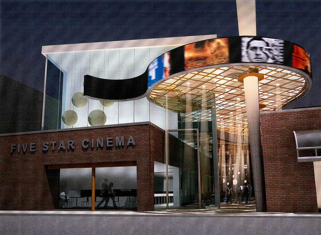 Five Star Cinema by Alajajian-Marcoosi Architects (under construction)