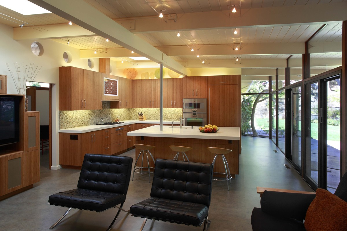 Mid Century Modern Remodel renovating mid century modern home - home modern