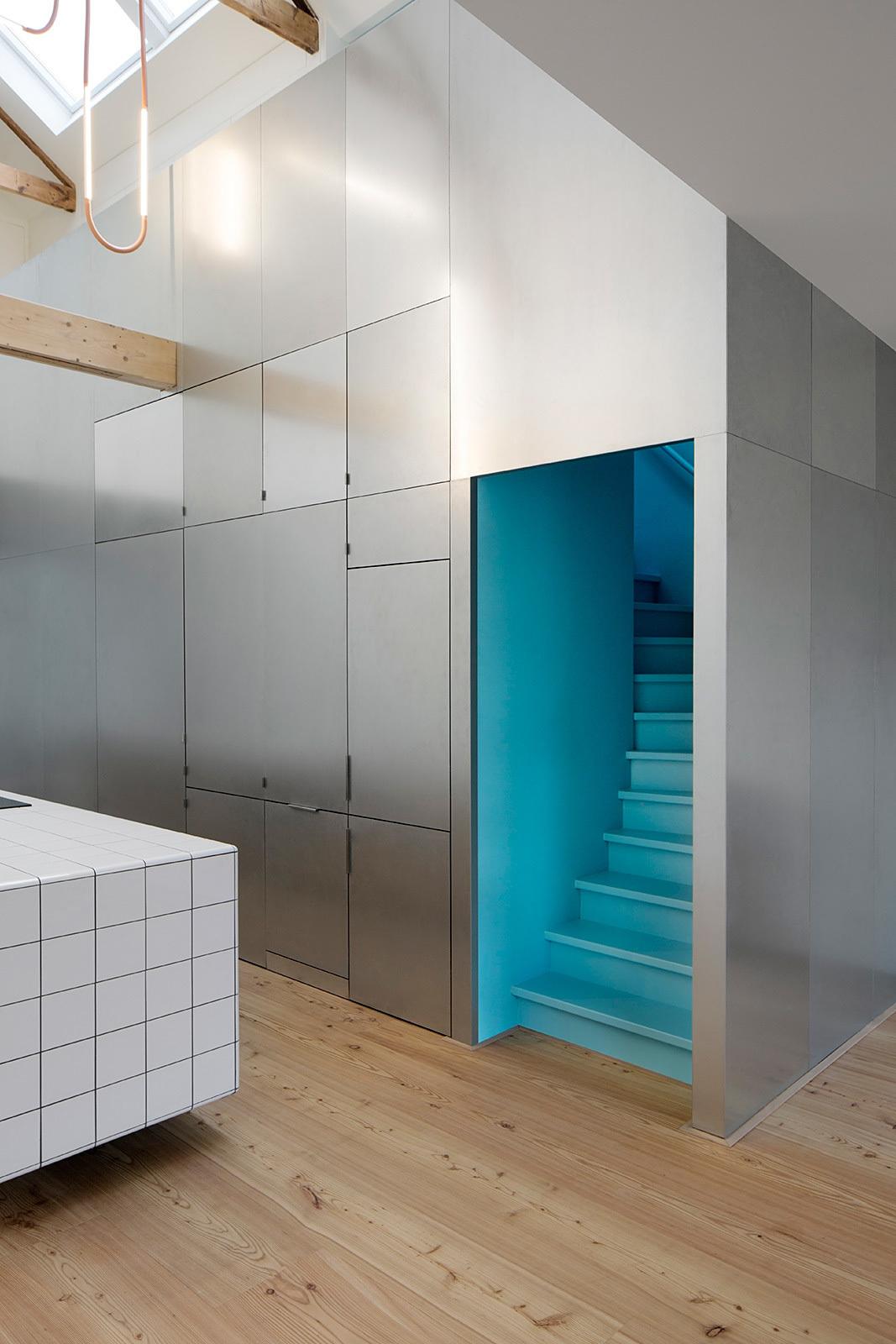 Matryoshka House in Rotterdam, Netherlands by shift architecture urbanism; Photo: NoortjeKnulst