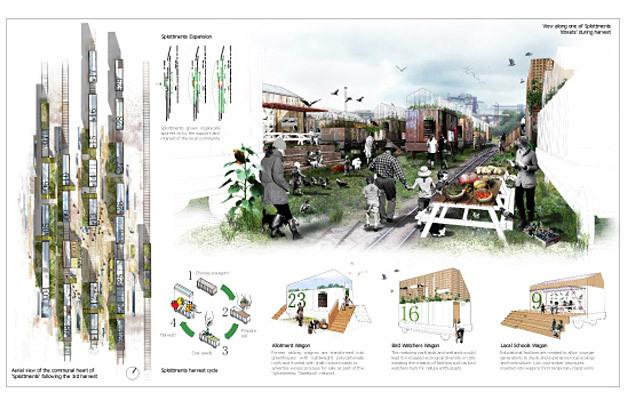 Special Mention/Landscape Urbanism: Splottments: Splott Tidal Sidings, Lianne Russ, Philip Henshaw, UK