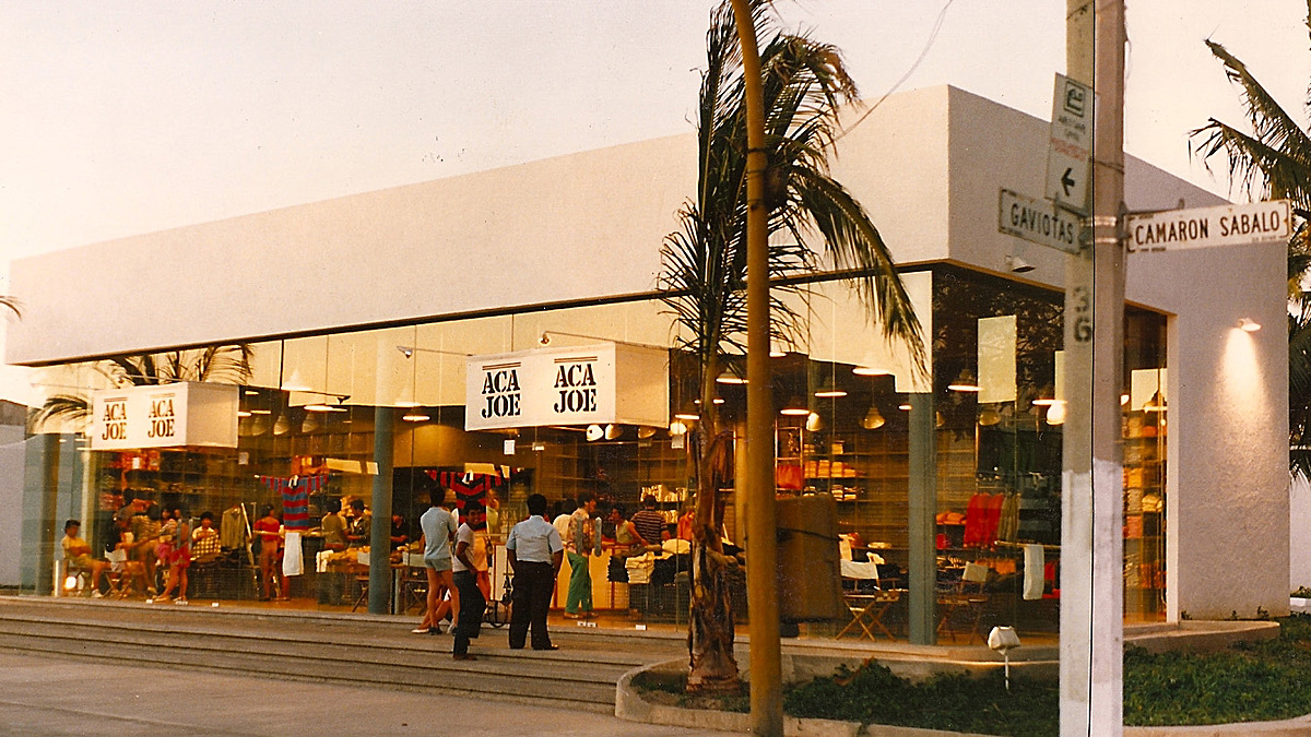 Large store Architecture of building as well. Mazatlan Mexico's Pacific.