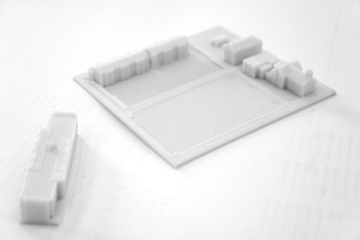 Site Model for a Multi-Family Housing project