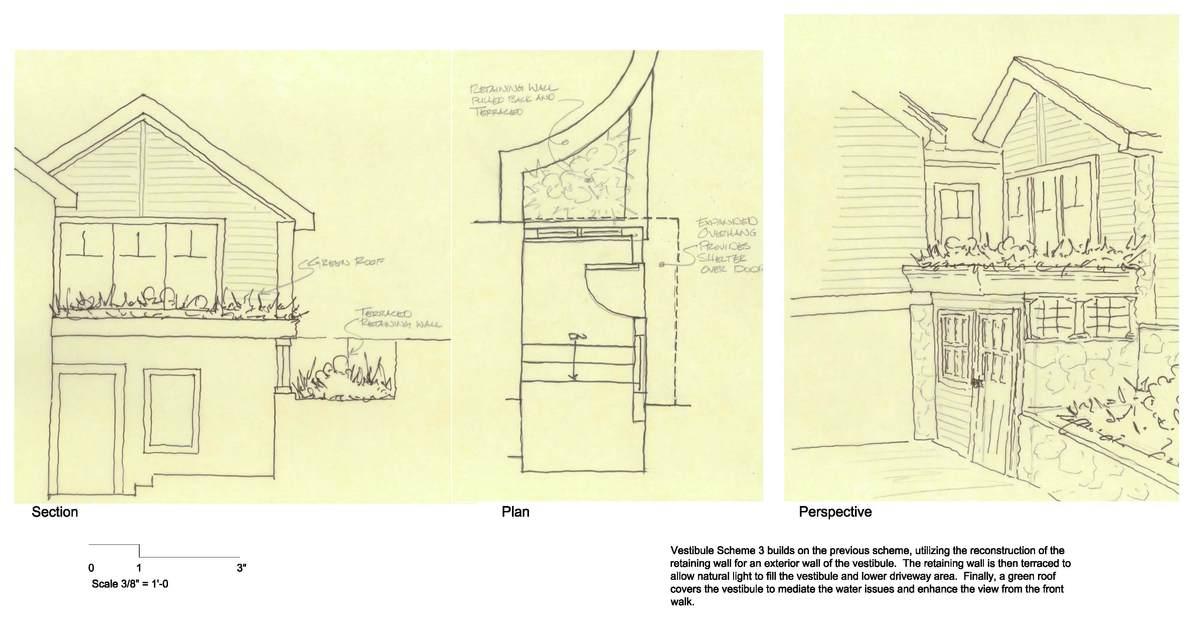 Mohawk Lake Residence - Vestibule Option 3