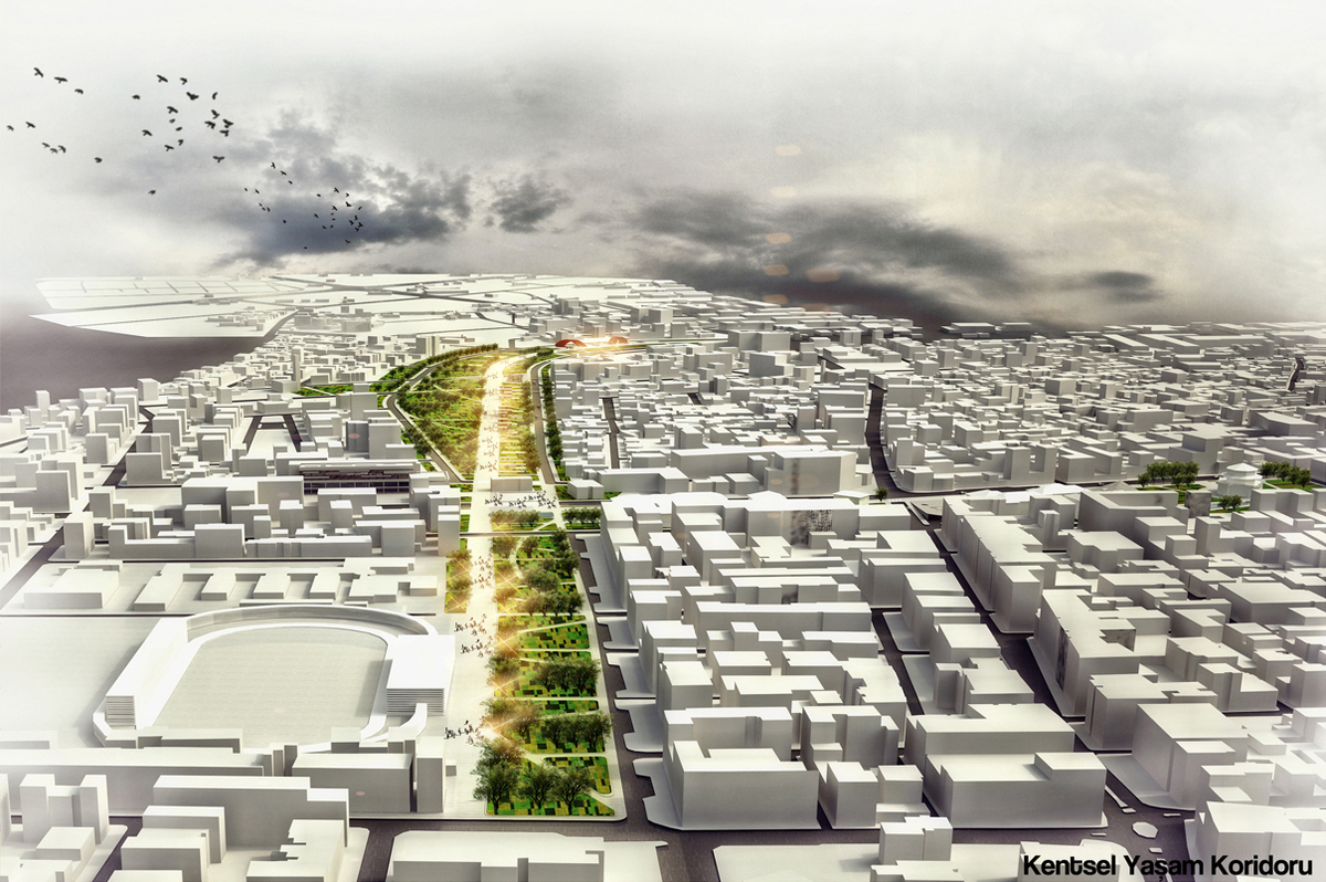 Corridor of Urban Life