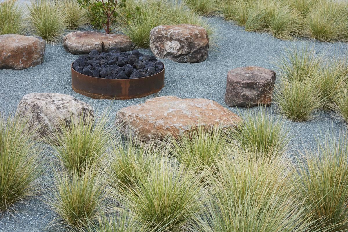 Sonoma Residence. Image courtesy of Terremoto Landscape.