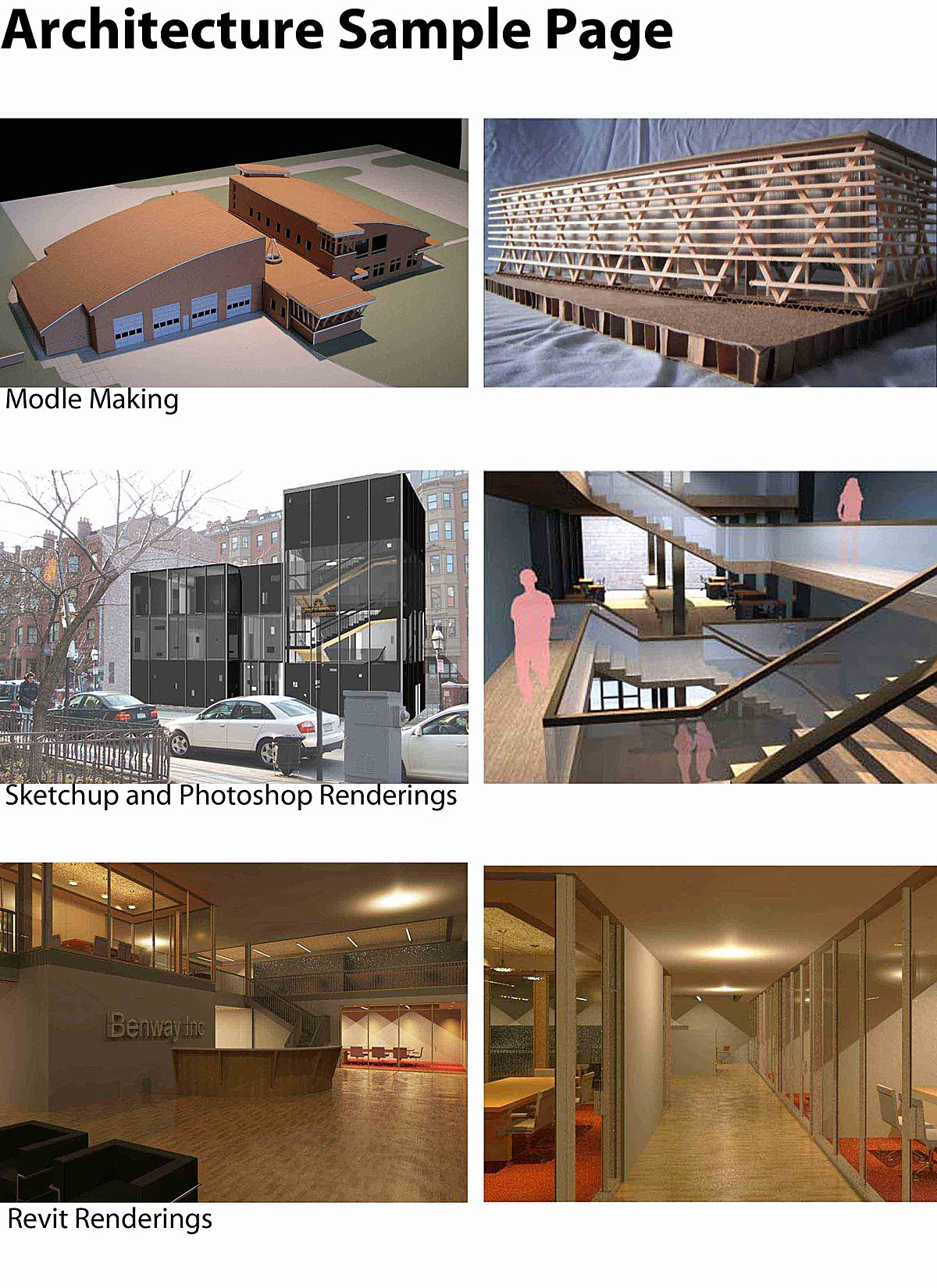 Samples of architecture work joshua benway archinect for Architecture simple