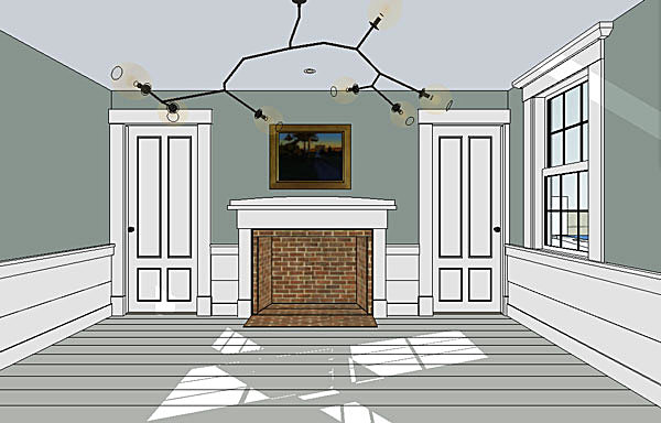 Dining Room (SketchUp)