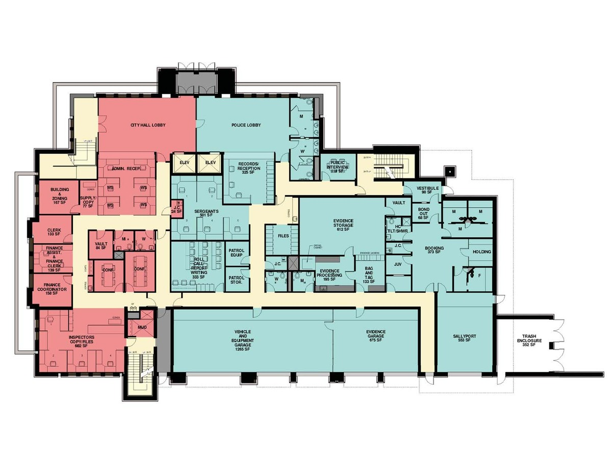 Schematic First Floor