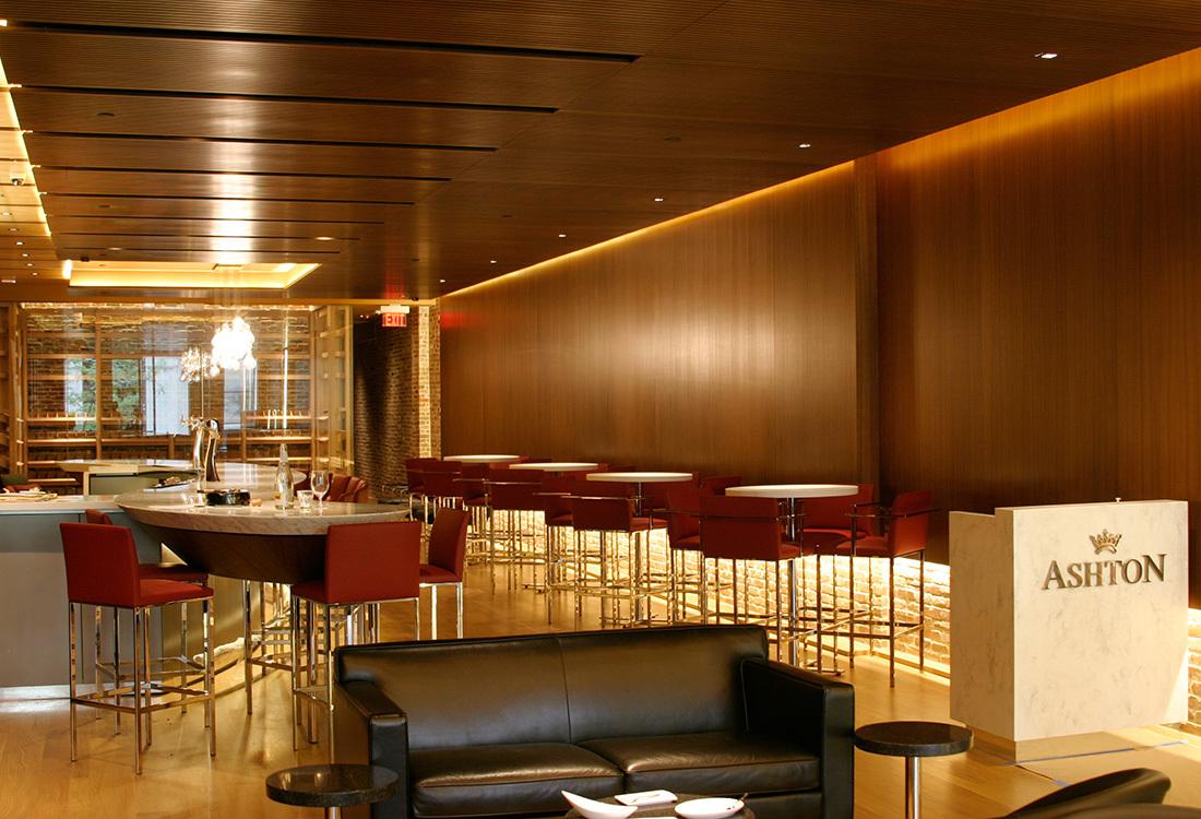 Restaurant Design Firms Philadelphia : Ashton cigar bar architectural woodwork industries