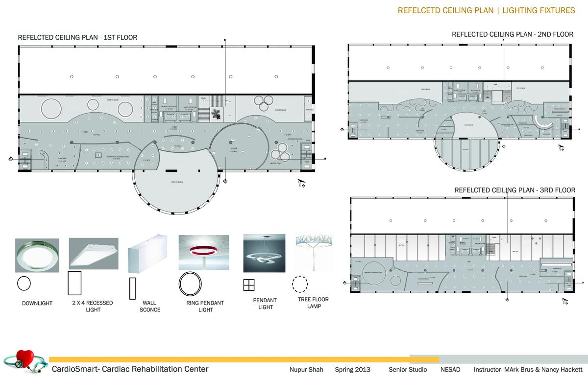 Reflected Ceiling Plan | Light Fixtures