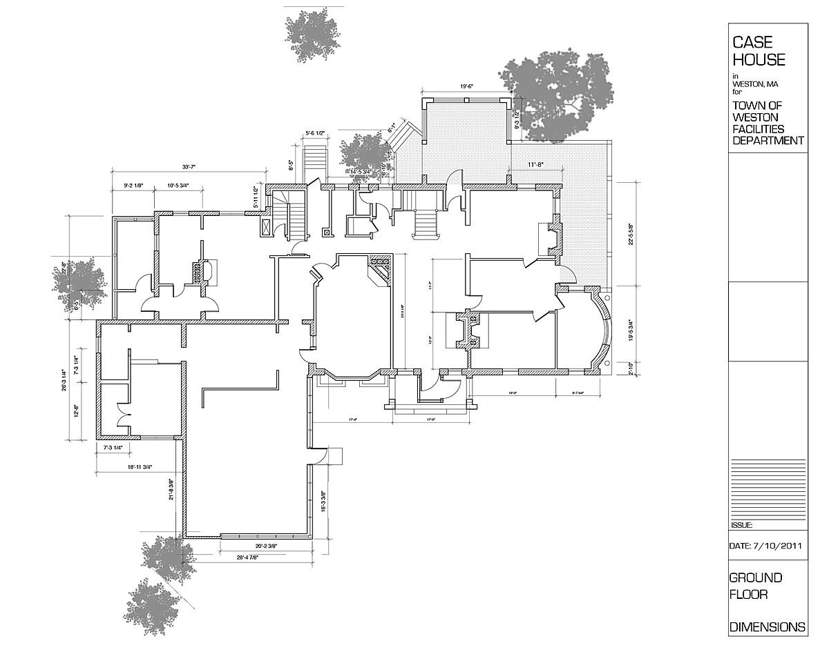 Ground Floor - Existing