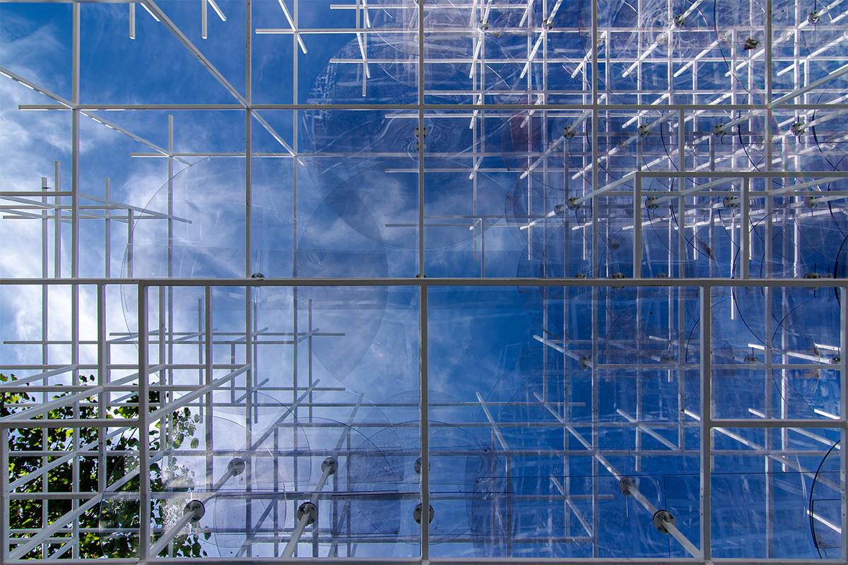 Serpentine Gallery Pavilion, London. Architect- Sou Fujimoto. © Edward Neumann : EMCN