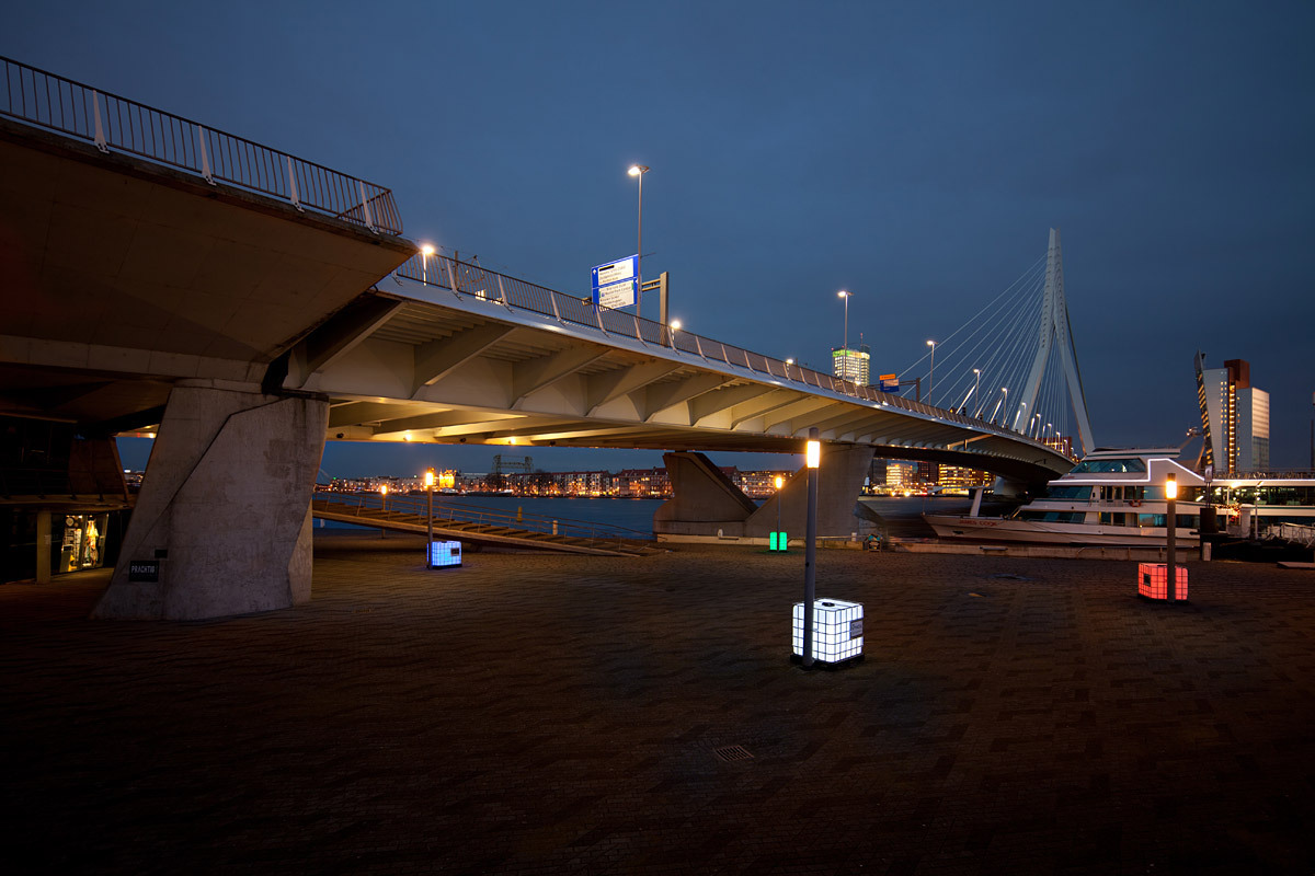 Lighting project, architect: Bureau M.E.S.T., 2011, Rotterdam © Ossip van Duivenbode