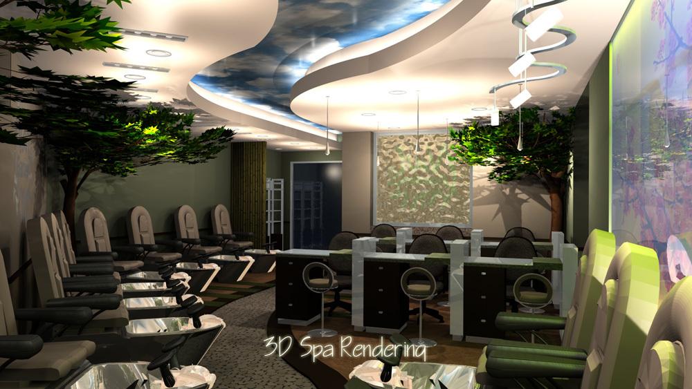 Nail Garden Spa Ryans Virtual Design Inc Archinect