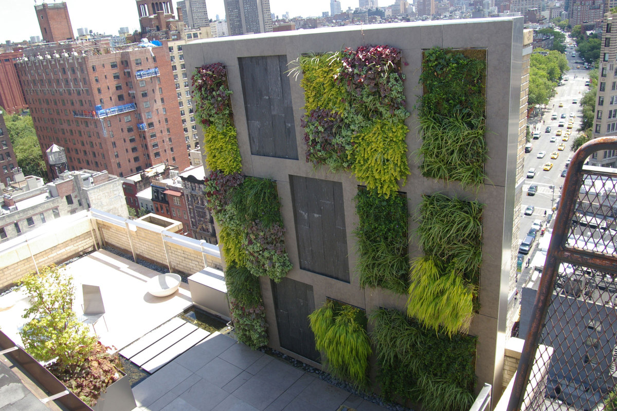 Waverly street penthouse future green studio archinect for Garten wand ideen