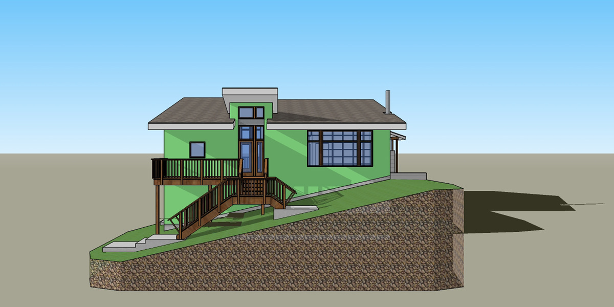 Proposed North Elevation