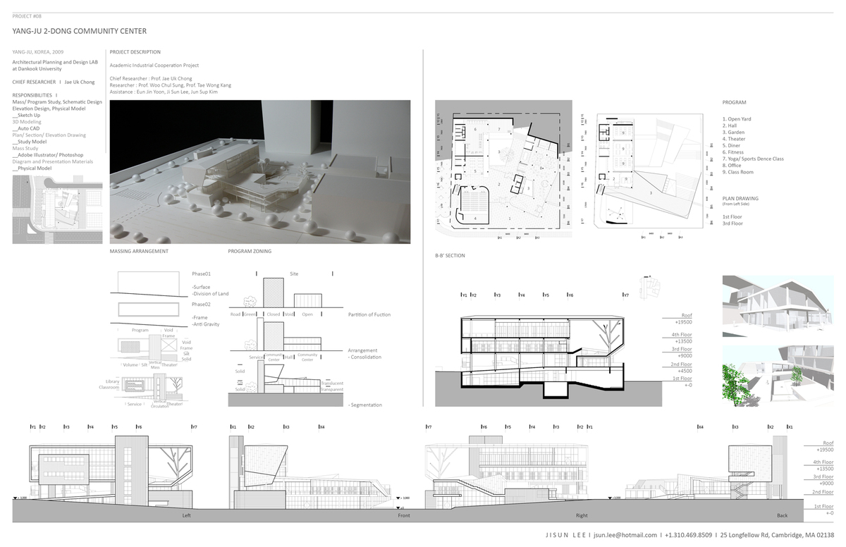 #Architectural Planning and Design Lab at Dankook University