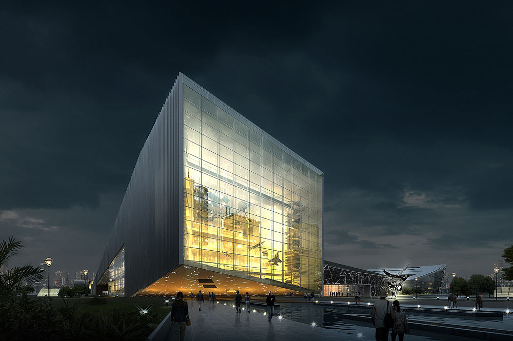 architectural rendering inteviso archinect