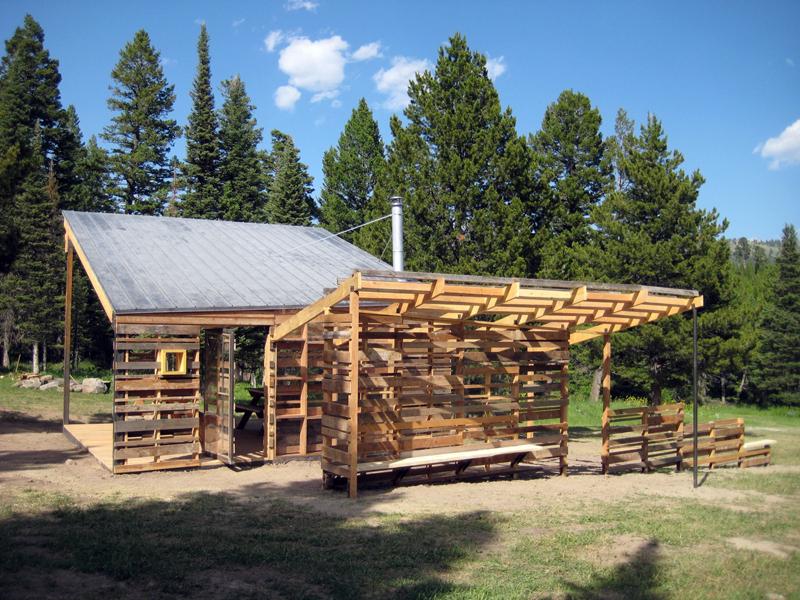 The Bohart Cross-Country Ski Pavilion