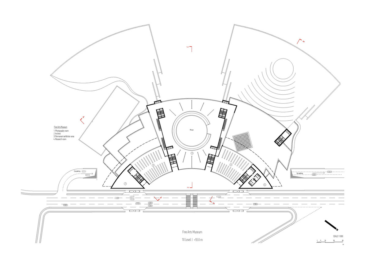 Plan, level 10 (Image: Architecton)