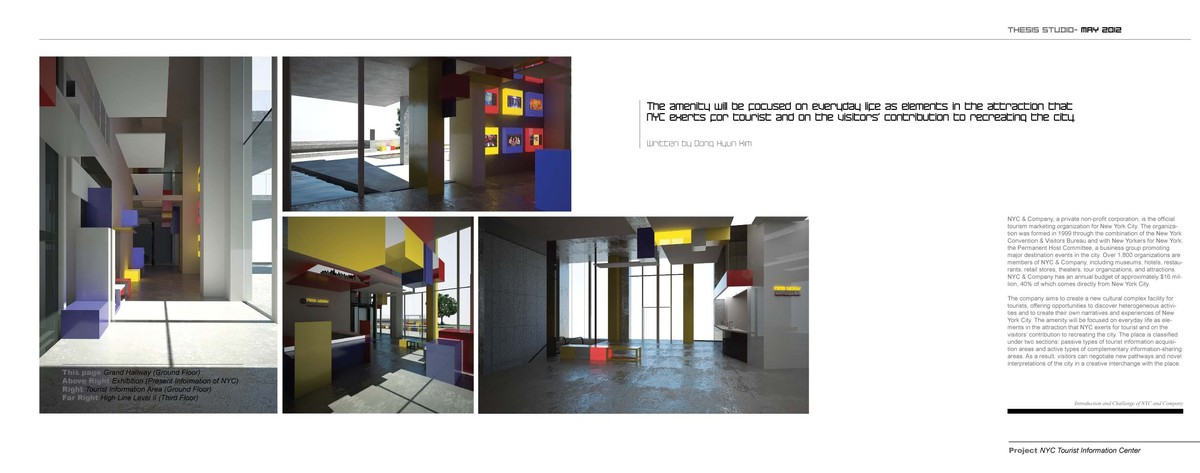 Design Page II- Some Perspectives & Introduction and Challenge of NYC and Company