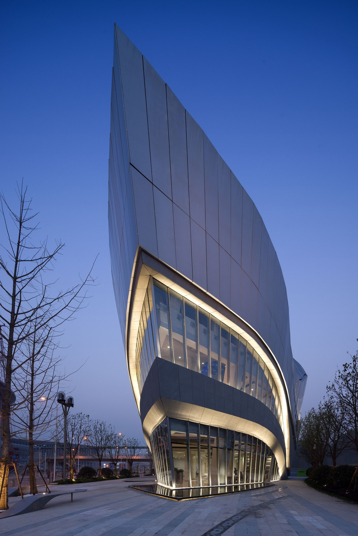 Aedas Design Gallery At Hongqiao World Centre Opens In