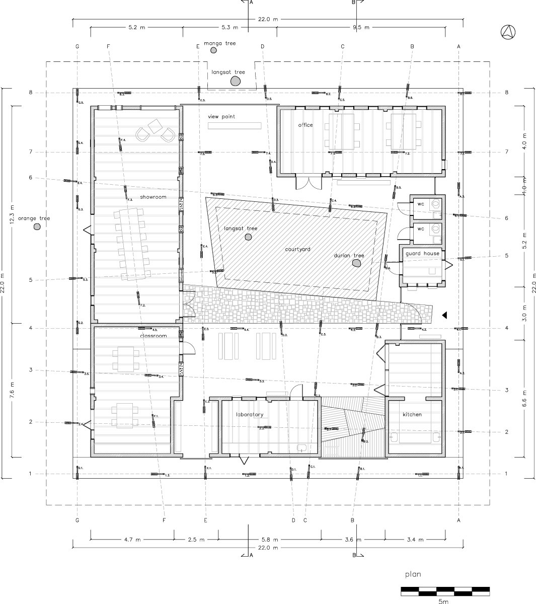 Plan (Image: TYIN tegnestue architects)