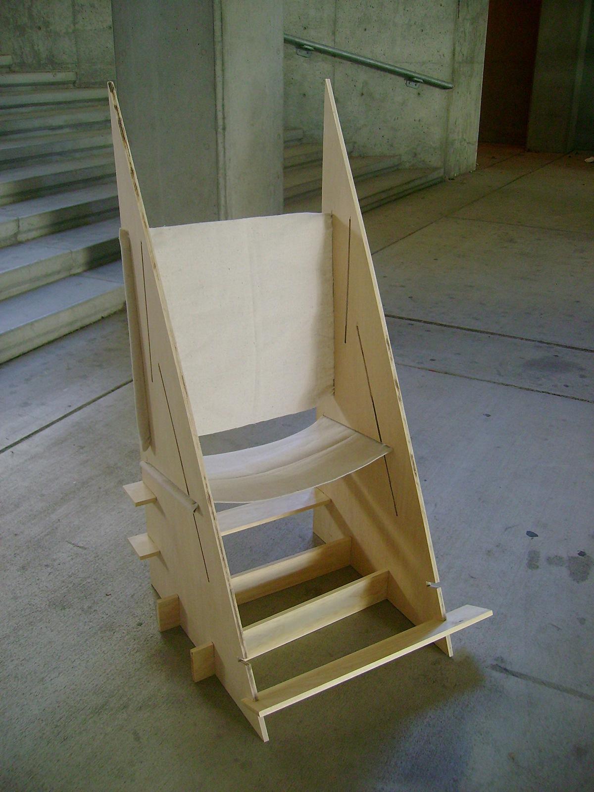 Vellum petition Flip Flop Chair Amy Chan