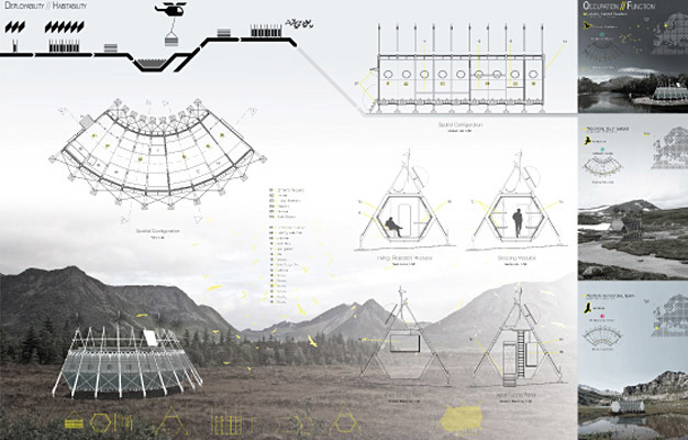 Special Mention/Transient Architecture: Mobile Autonomous Collating Lab, Matthew Riley, UK