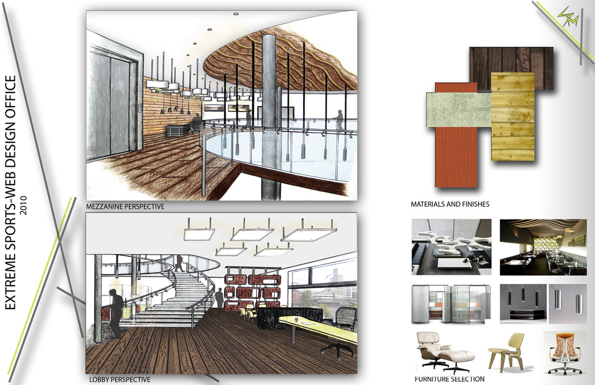 Web design office archived for cida iida competition for Architecture mezzanine