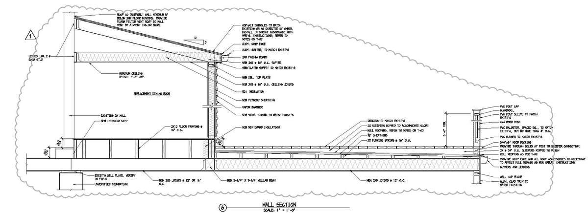 Denville Residence - Construction Document Detail