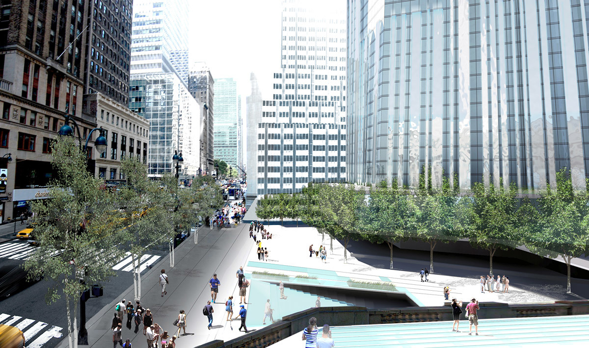 42nd street west (Image: WXY Architecture + Urban Design)