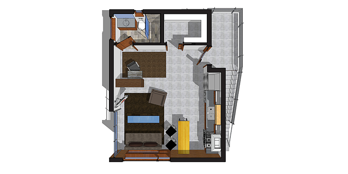 Guest House Main Floor Plan