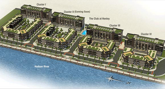 AERIAL VIEW OF SITE PLAN