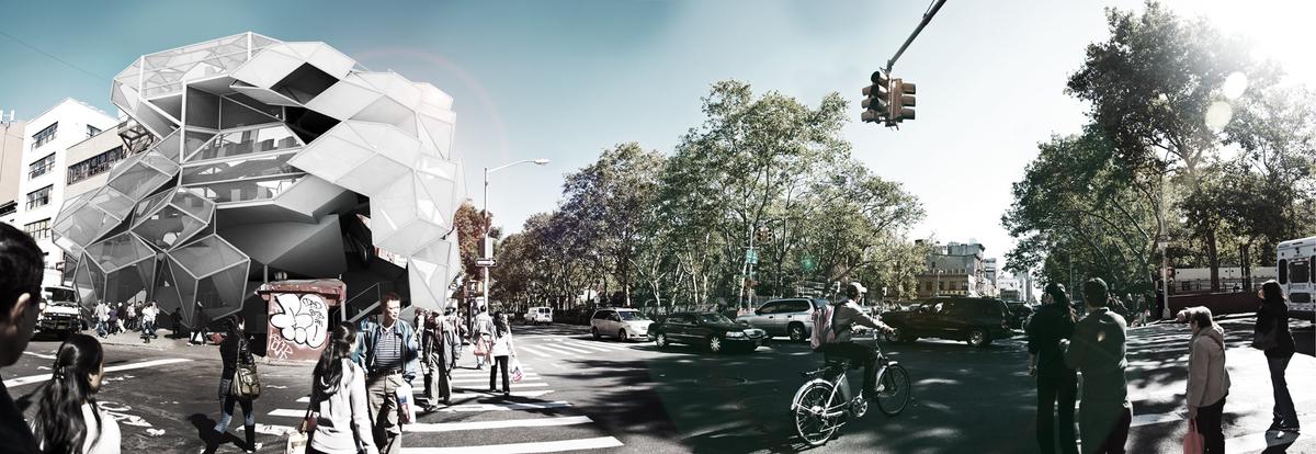 The Organic Archive - Architectural Design (Fall 2011)