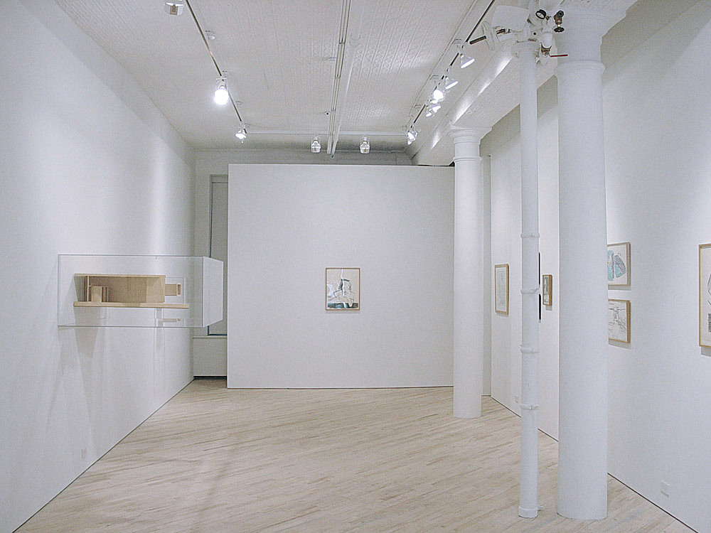 PARC Foundation, non-profit gallery and office interior; New York, NY; Igor Siddiqui / isssstudio