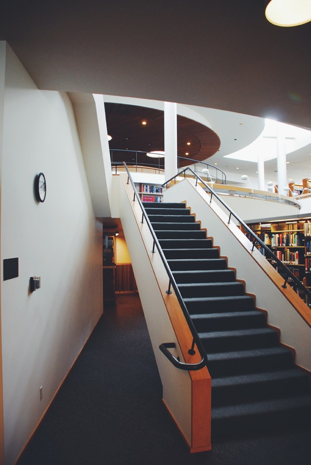 Mt. Angel Abbey Library by Alvar Aalto