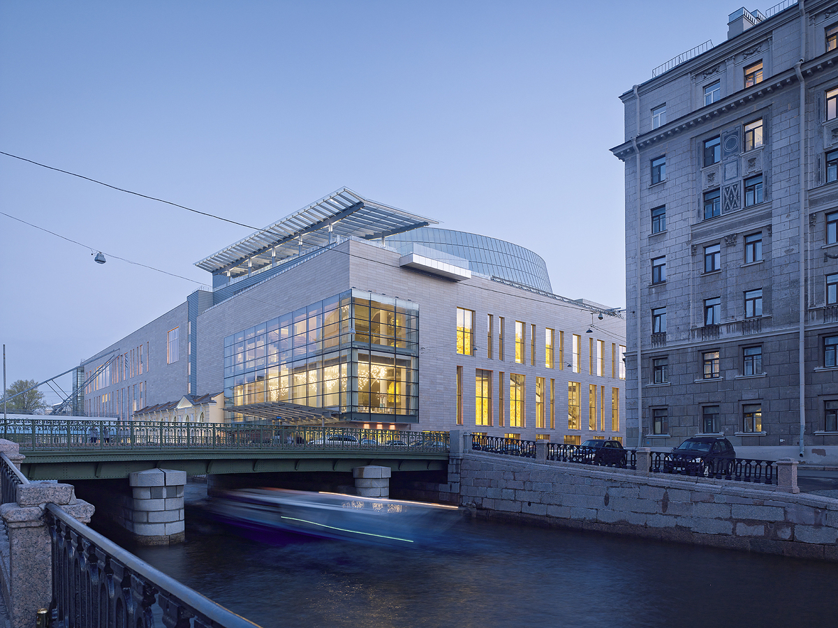 Mariinsky II Theatre and Kryukov Canal